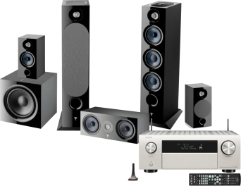 AVC-X4700H +  Focal Chora 826-D + Center + 806 + SUB 600P ATMOS