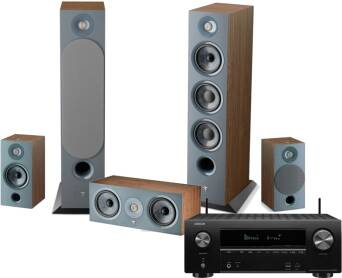 Denon AVR-X2700H + Focal Chora 826 + 806 + Center