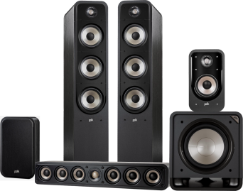 Polk Audio Signature S60E + S35CE + S20E + HTS12
