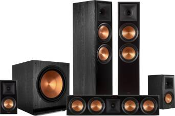 Klipsch Reference Premiere RP-8000F + RP-504C + RP-500M + SPL-150