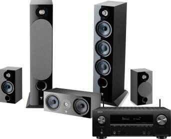 Denon AVR-X2600H + Focal Chora 826 + 806 + Center