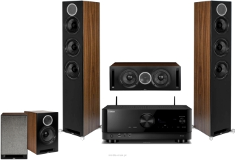 Yamaha RX-V6A + Elac Debut Reference F5 + B5 + C5