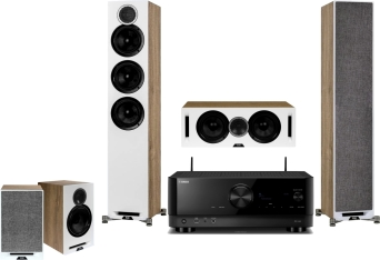 Yamaha RX-V4A + Elac Debut Reference F5 + B5 + C5