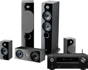Denon AVR-X2700H + Focal Chora 816 + 806 + Center